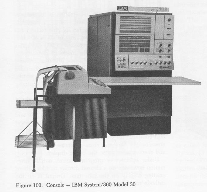The IBM System 360 Model 30